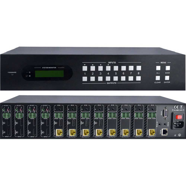 MAT.HDBT88-4K | Matrice hybride 88 HDBaseT
