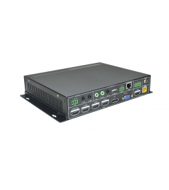 Scaler seamless 4K multi-formats 6 entrées 2 sorties  SCA61TS