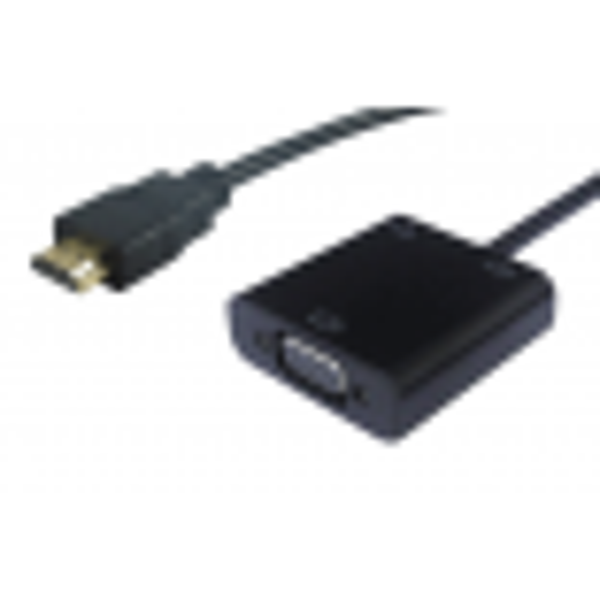 ADP.HDMVGAAF Convertisseur HDMI Mâle / VGA Femelle + Audio