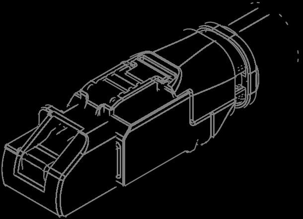 Fiche Telegartner FIC.RJ45/6ABP3T