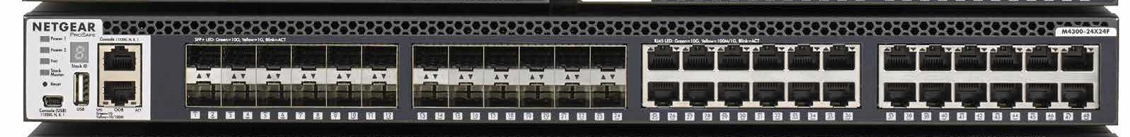 NET.XSM4348S Netgear XSM4348S-100NES   -   M4300-24X24F face avant