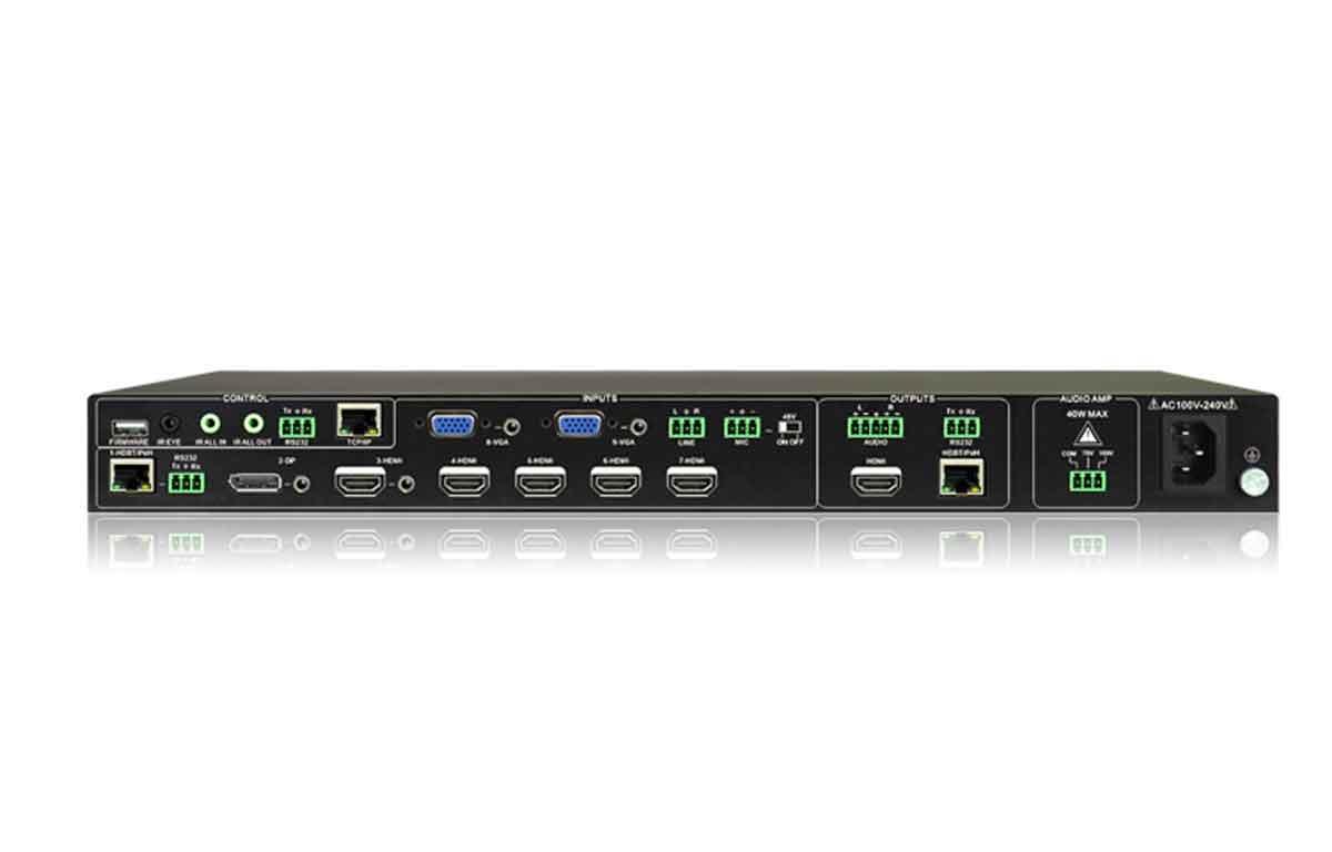 SCA91T - Sélecteur scaler HdBaseT / HDMI + TP411R inclus