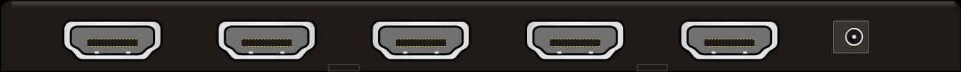 SP4-4K | Distributeur HDMI 1x4 extra plat