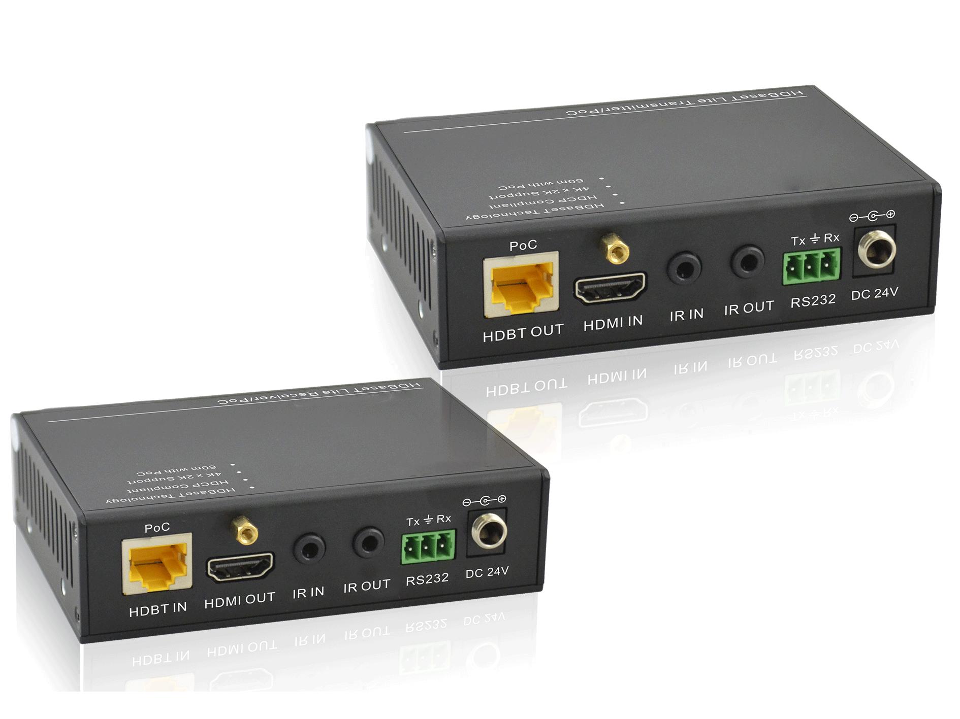 TP402P - Kit extendeur HDMI HdBaseT 70m avec RS232
