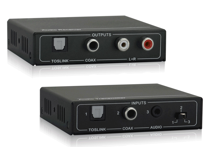 TPA33P - Extendeur audio pour audio analogique et numérique sur 100 m