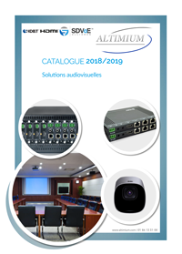 Catalogue Altimium 2019